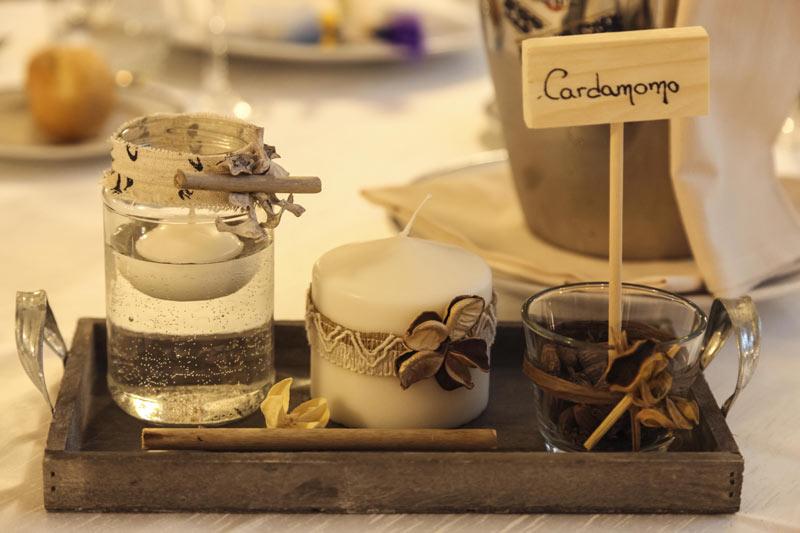 Particolare Decorazioni Matrimoni in Abruzzo Hotel Promenade